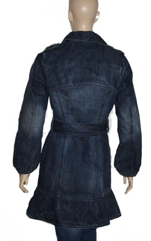 killah hydra damen jeansjacke mantel jeansmantel blouson. Black Bedroom Furniture Sets. Home Design Ideas